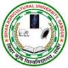 Bihar Agriculture University Recruitment 2013