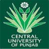 Central University of Punjab Recruitment 2016